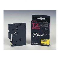 Páska Brother TZE-611, 6mm, černý tisk/žlutý podklad, originál 1
