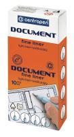 Popisovač Centropen 2631 dokument 0,1 modrý 2