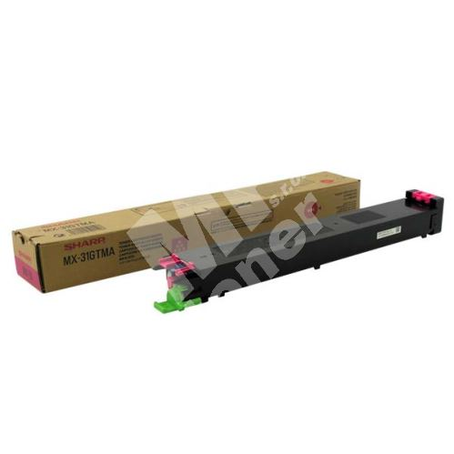 Toner Sharp MX-31GTMA magenta originál 1