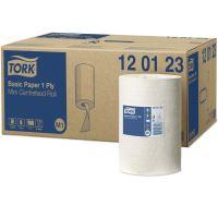 Tork Basic papírová utěrka 1vrstvá, bílá, M1