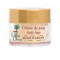 Le Petit Olivier Anti age denní krém s arganovým olejem, 50ml