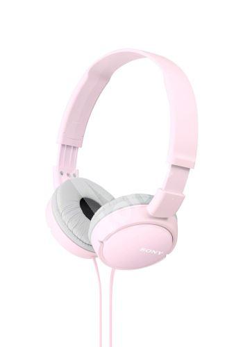Sony sluchátka MDR-ZX110, růžové 1