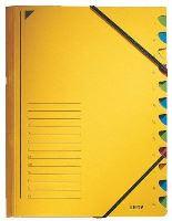 Třídící desky Leitz s gumičkou, 12 přihrádkové 4