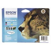 Cartridge Epson C13T07154012, C+M+Y+BK, originál 2