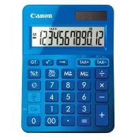 Kalkulačka Canon LS-123K, modrá, stolní, dvanáctimístná