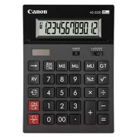 Kalkulačka Canon AS-2200, černá, stolní, dvanáctimístná