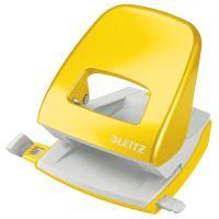 Stolní děrovač Leitz NeXXt WOW 5008, metalický žlutý