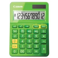Kalkulačka Canon LS-123K, zelená, stolní, dvanáctimístná