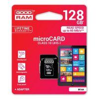 128GB Goodram Micro Secure Digital Card, micro SDXC, UHS-I U1 (Class 10),