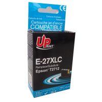 Kompatibilní cartridge Epson C13T27124010, 27XL, cyan, 1100str., 13ml, UPrint