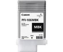 Inkoustová cartridge Canon PFI-106MBk, iPF-6300, black, 6620B001, originál