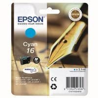 Inkoustová cartridge Epson C13T16224012, WF-2540WF, WF-2520NF, cyan, 16, originál