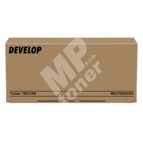 Toner Develop TN219, 4827000284, black, originál 1
