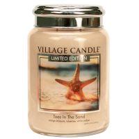 Village Candle Vonná svíčka ve skle - Toes In The Sand, 26oz