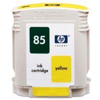 Inkoustová cartridge HP C9427A žlutá, No. 85 originál
