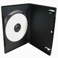 Box na 1ks DVD, 9mm slim, černý (100)