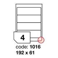 Samolepící etikety Rayfilm Office 192x61 mm 100 archů R0100.1016A