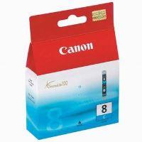 Inkoustová cartridge Canon CLI-8C modrá, 13ml, originál