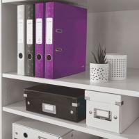 Pákový pořadač 180 Wow, purpurová, 52 mm, A4, PP/karton, LEITZ 3