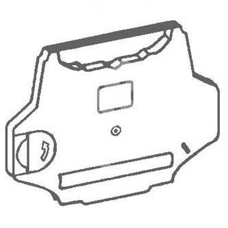Páska pro psací stroj pro Triumpf Adler 315, 600, 7007, 9009, SE300, TA400, černá 1