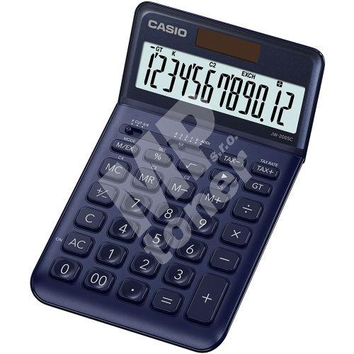 Kalkulačka Casio JW 200SC NY, modrá