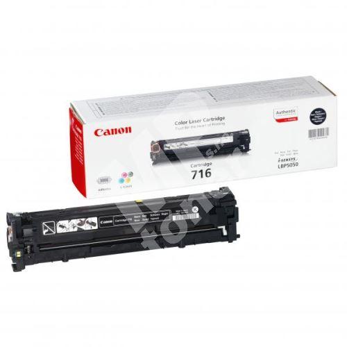 Toner Canon CRG-716Bk, LBP-5050, 5050n, black, 1980B002, originál