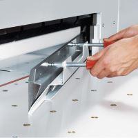 Elektrická stohová řezačka papíru Ideal 7260 6