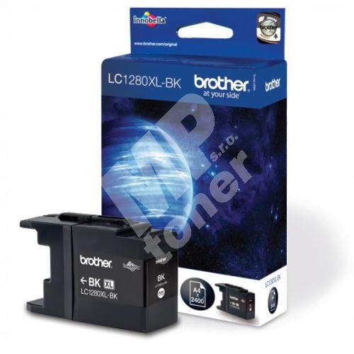 Inkoustová cartridge Brother LC-1280XLBK, MFC-J6910DW, black, high capacity, originál