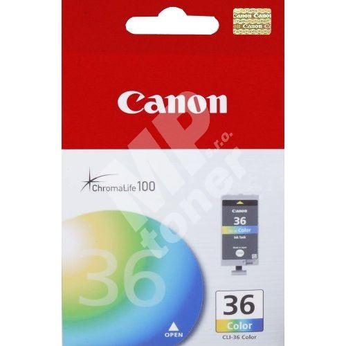Cartridge Canon CLI-36, color, originál 1