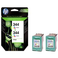 Inkoustová cartridge HP C9505EE, 2xC9363EE, No. 344, color, 2-Pack, originál