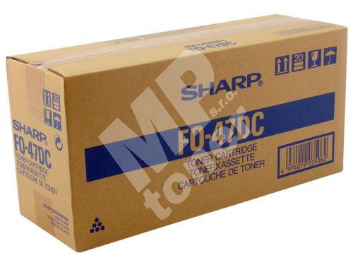 Toner Sharp FO47DC, black, originál 1