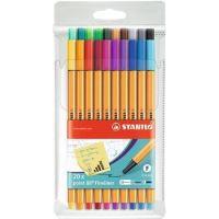 Linery STABILO BigPoint 88, 0,4mm, 20 různých barev