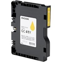 Gelová náplň Ricoh GC41YL, 405768, Aficio SG2100N, yellow, originál
