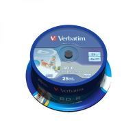 25GB Verbatim BD-R SL, cake box, 43761, 4x, 25-pack