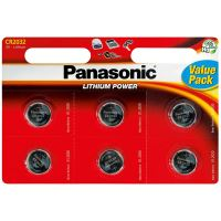 Baterie Panasonic CR 2032, lithiová, 3V