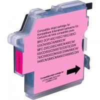 Kompatibilní cartridge Brother LC-980M, DCP 145C, DCP165C, magenta, Uprint