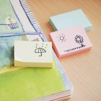 Samolepicí bločky Stick n mix pastelových barev, 38 x 51 mm 3