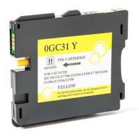 Gelová náplň Ricoh 405704, GXE5550N, GXE77, yellow, GC-31HY, originál