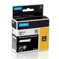 Páska Dymo 5,5m x 6mm, černý tisk/průhledný podklad, permanentní polyesterová D1, 1805440