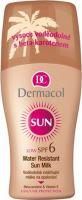 Dermacol Sun voděodolné mléko na opalování ve spreji SPF 6 200 ml