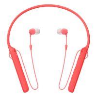 Sluchátka Sony WIC400R bezdrátová, červená