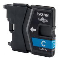 Inkoustová cartridge Brother LC-985C, DCP-J315W, cyan, originál