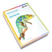 Barevný papír A4 80g Master Copy 10 barev bal/500l