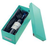 Archivační krabice na CD Leitz Click-N-Store WOW, ledově modrá 2