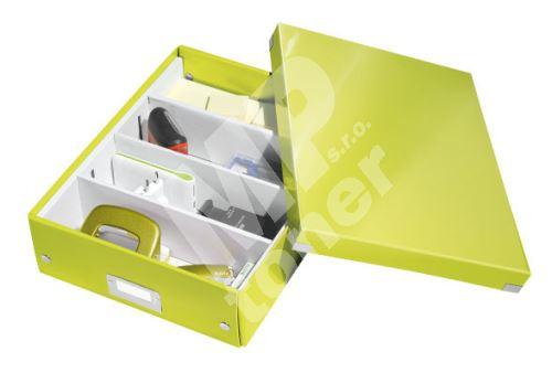 Archivační organizační box Leitz Click-N-Store M (A4), zelený 1
