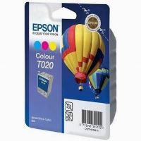 Inkoustová cartridge Epson C13T020401 color, originál