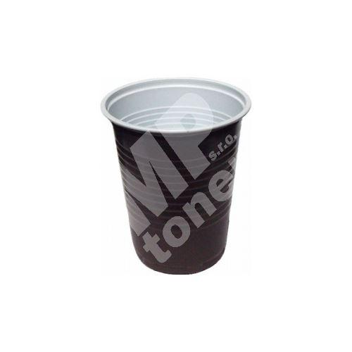 Plastový kelímek 0,18 na horké nápoje
