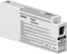 Inkoustová cartridge Epson C13T824700, SureColor SC-P 6000, light black, originál