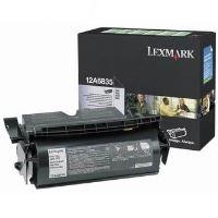 Toner Lexmark 12A6835 T522 černá, return originál