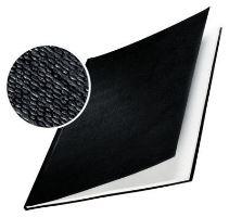 Tvrdé desky Leitz impressBIND, 106 - 140 listů, černé, balení 10 ks